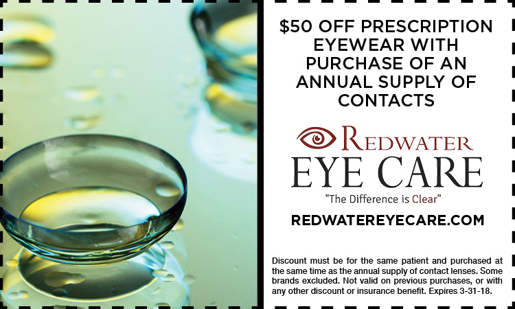 Redwater Eye Care Promotion